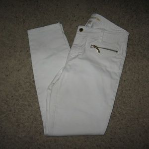 Michael Kors Womens Jeans - White 6